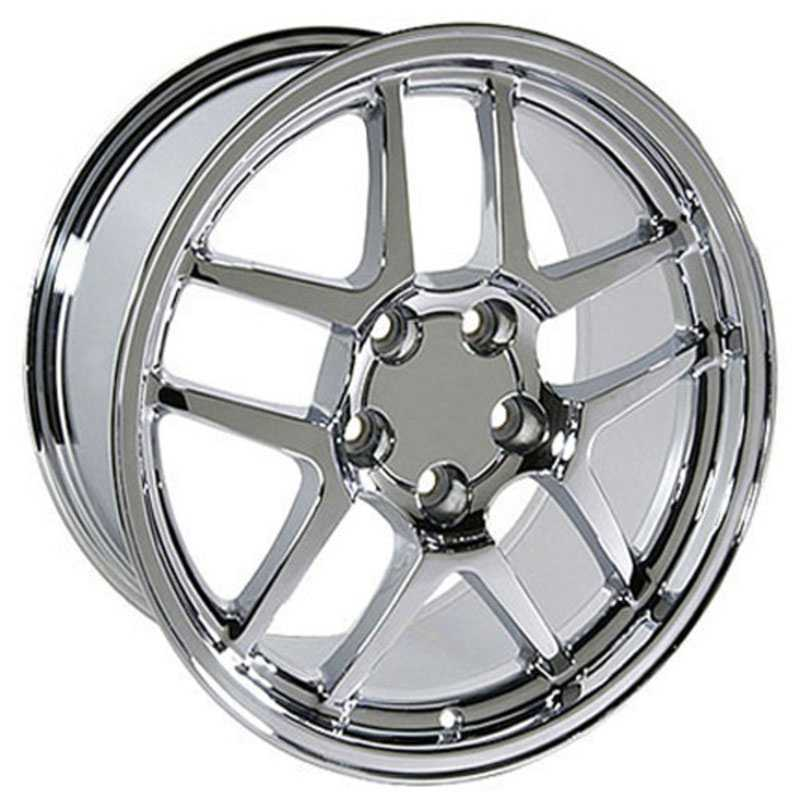 Corvette C5 Z06 Style (CV04)  Wheels Chrome