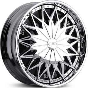 Dub Joker Spinner  Wheels Chrome