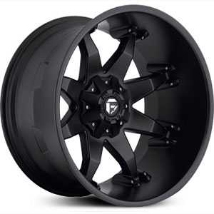 Fuel D509 Octane  Wheels Matte Black Deep Lip