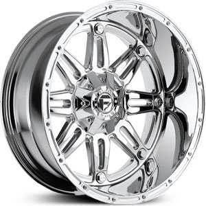 Fuel D530 Hostage  Wheels Chrome Deep Lip