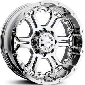 20x9 Gear Alloy Recoil 715C Chrome RWD