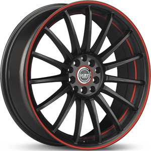 Ruff Racing R950 Black w/ Red Accent