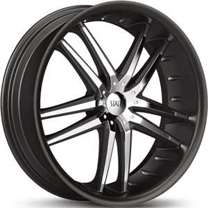 24x9 Status Fang 820 Black / Chrome Inserts RWD