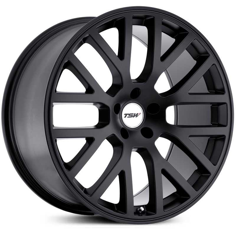 TSW Donington  Wheels Matte Black