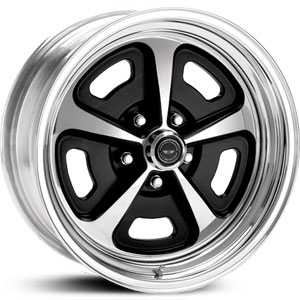VN500 Gloss Black Polished Center w/ Polished Rim