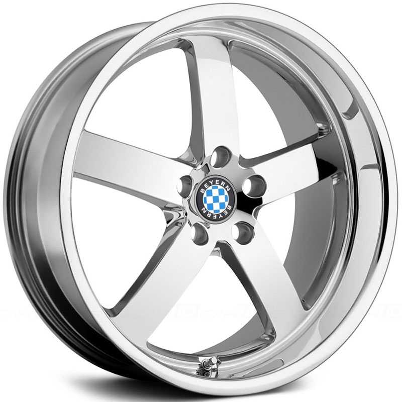 Beyern Rapp  Wheels Chrome