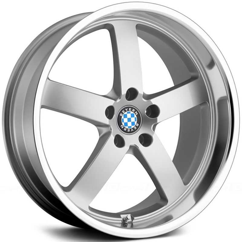 Beyern Rapp  Wheels Silver w/ Mirror Lip