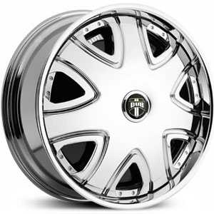Dub Bandito Spinner  Wheels Chrome