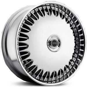 26x10 Dub Billionaire Spinner Chrome RWD