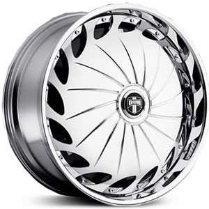 Dub Drama Spinner  Wheels Chrome