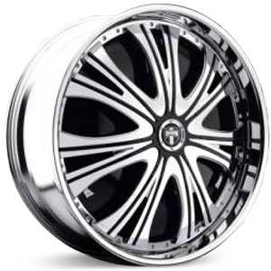 Dub Mamba Spinner  Wheels Chrome