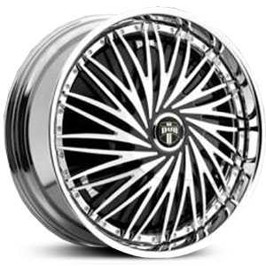 Dub Rebellion Spinner  Wheels Chrome