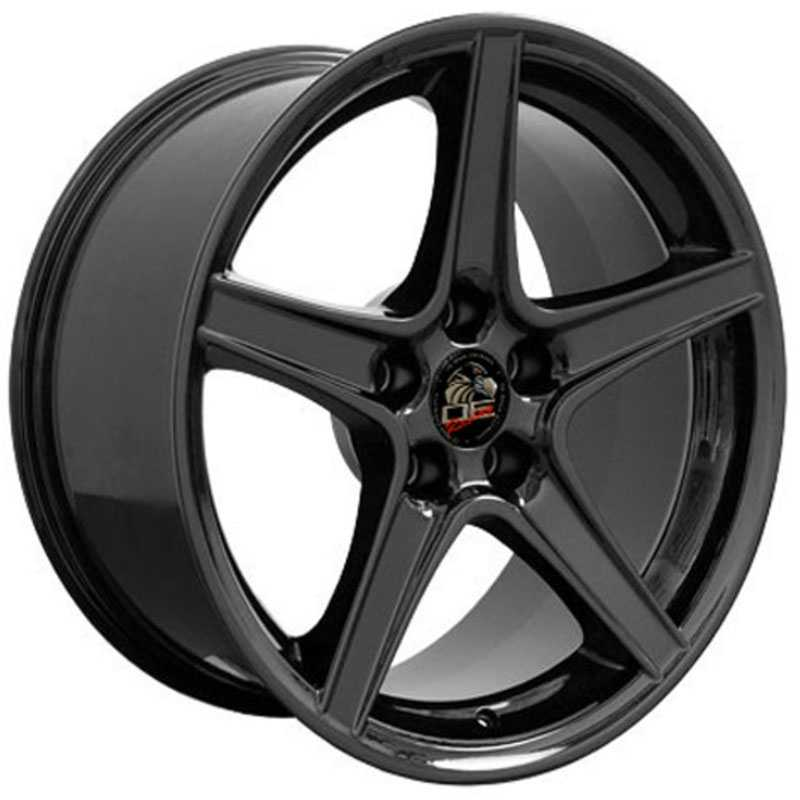 Fits Ford Mustang Saleen Style (FR06)  Wheels Black