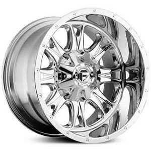 Fuel D512 Throttle  Wheels Chrome Deep Lip