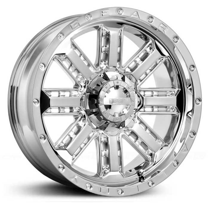 17x9 Gear Alloy Nitro 723C Chrome MID
