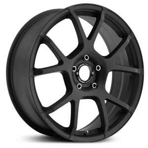 18x8 Motegi 121 Satin Black HPO