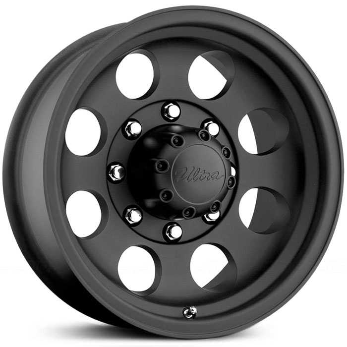 Pacer 164B LT Mod  Wheels Matte Black