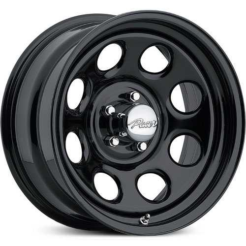 Pacer 297 Soft 8  Wheels Black