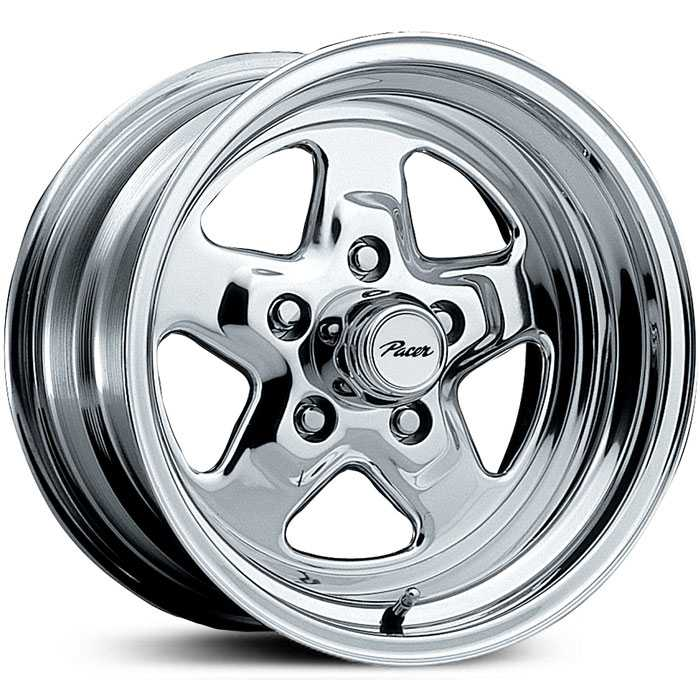 Pacer 521P Dragstar  Wheels Polished
