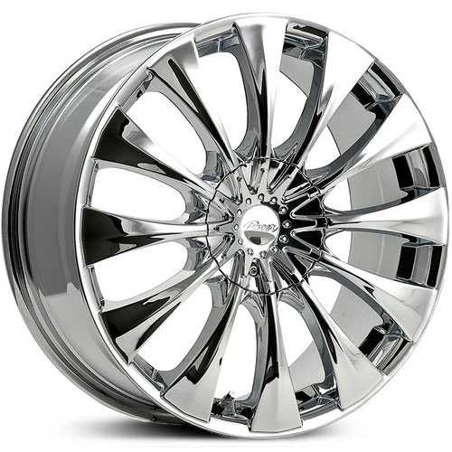Pacer 776C Silhouette  Wheels Chrome