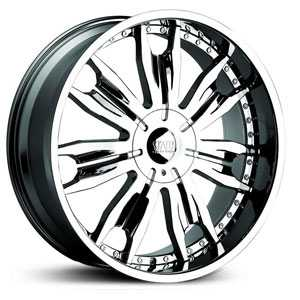 24x10 Status Duke Chrome RWD