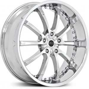 22x10 Status Knight 10 Chrome MID