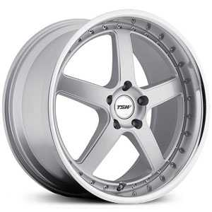 TSW Carthage  Wheels Silver w/ Mirror Lip