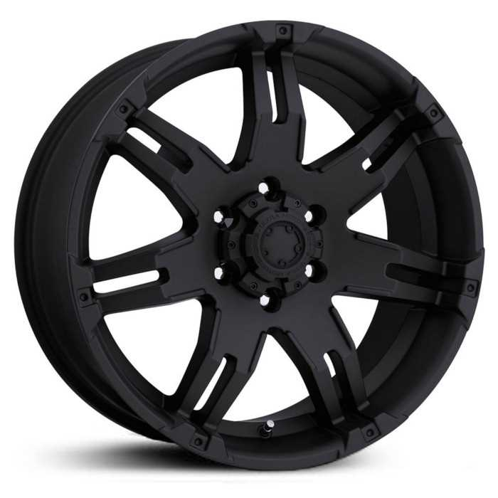 Ultra 237/238B Gauntlet  Wheels Matte Black