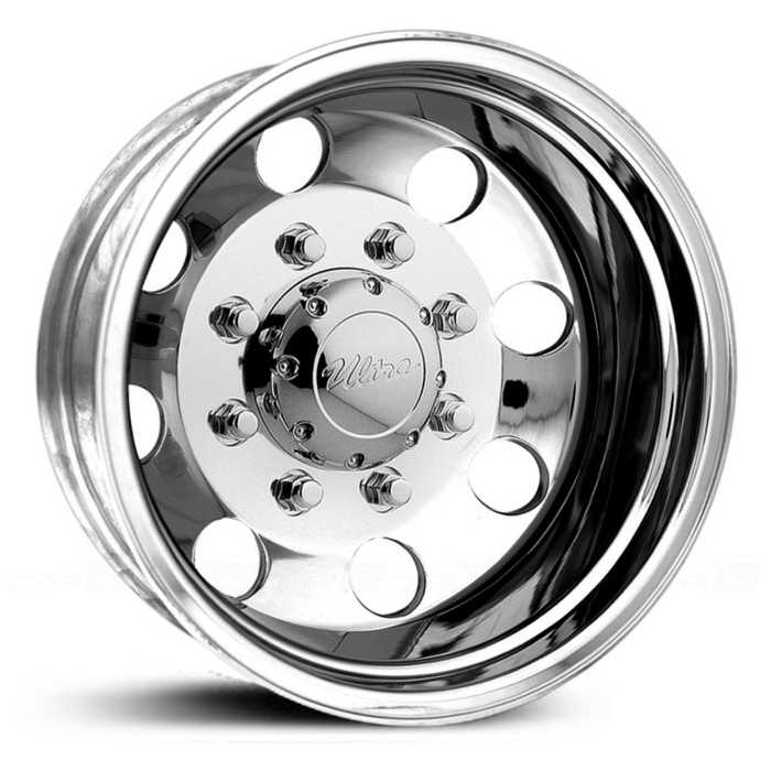 Ultra 02P Modular Dually  Wheels Polished (Rear)