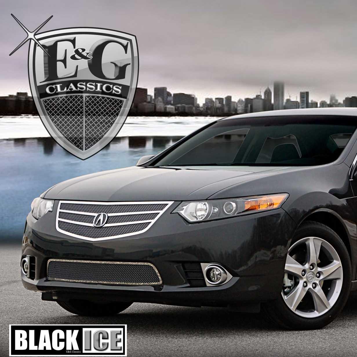 EG Classics Acura TSX Grille Pc Fine Mesh Black Ice - Acura tsx grill