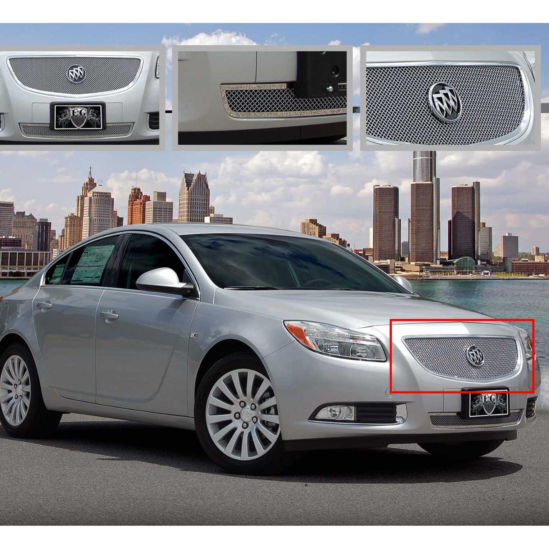 2013 Buicks: E&G Classics 2011-2013 Buick Regal Grille Fine Mesh Grille