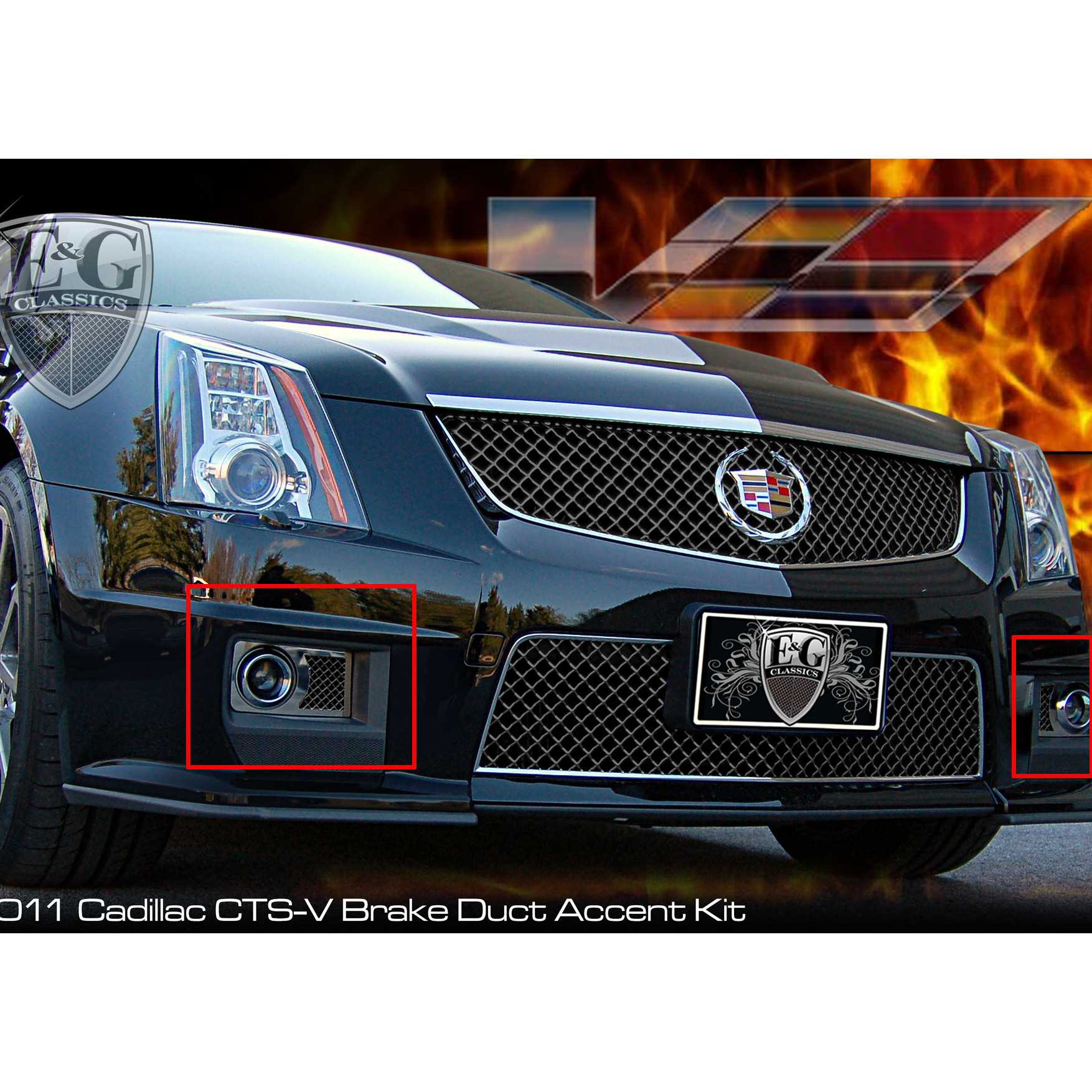 2012 Cadillac Cts V Reviews And Rating: E&G Classics 2011-2013 Cadillac CTS Accessories Front