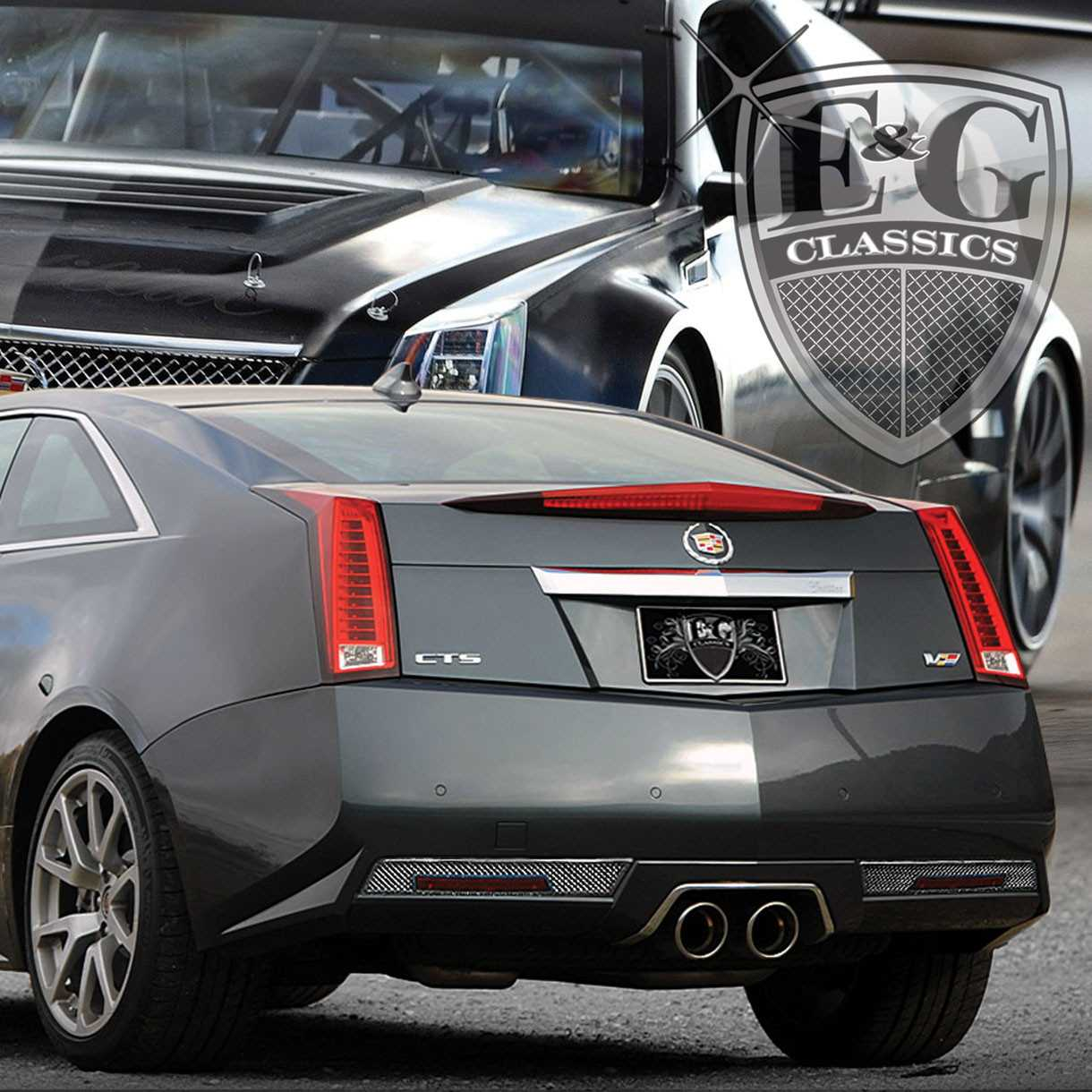 Cadillac Accessories Catalog: E&G Classics 2011-2013 Cadillac CTS Accessories Rear Accent Kits For The Cts-V Only