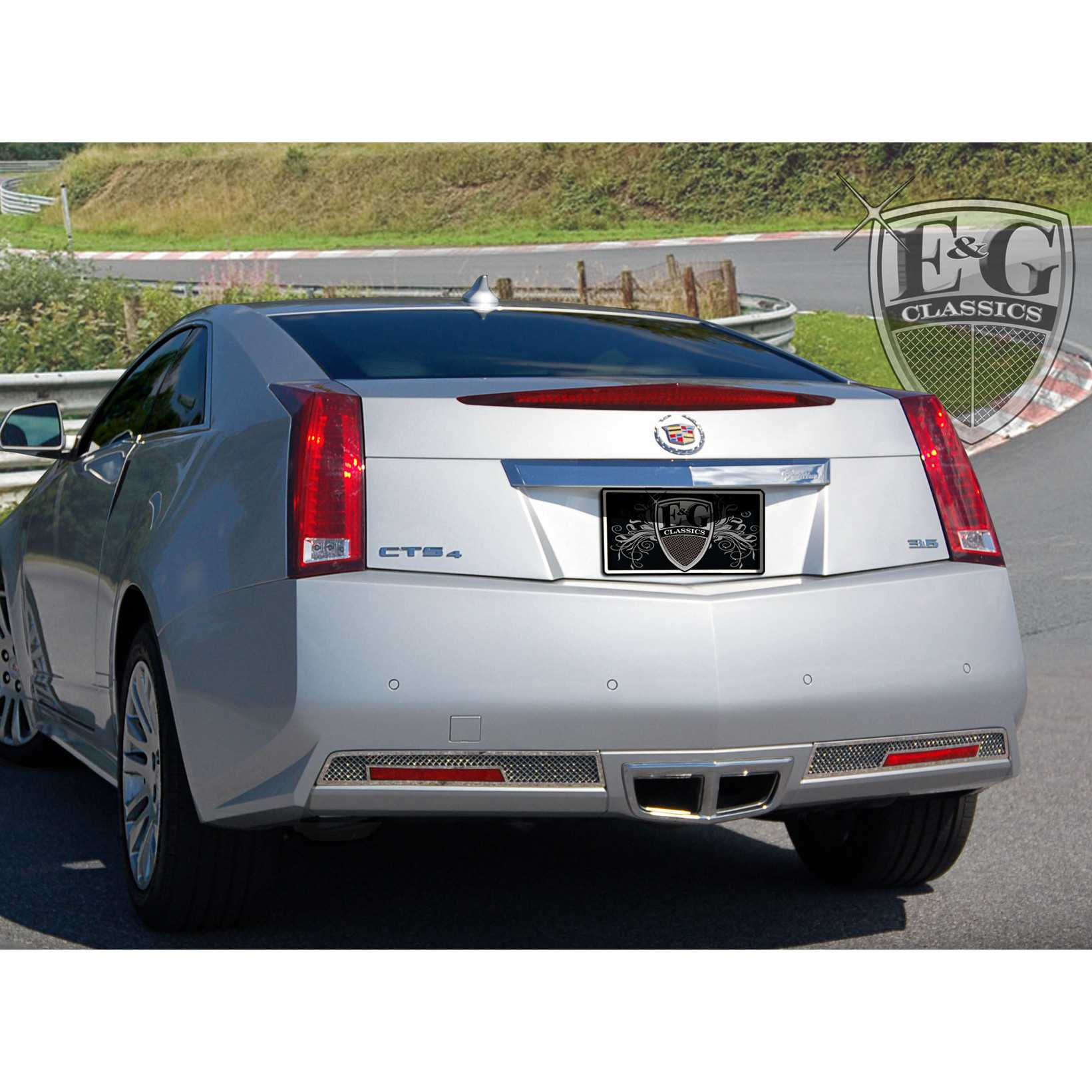 E&G Classics 2011-2015 Cadillac CTS Accessories Coupe Rear