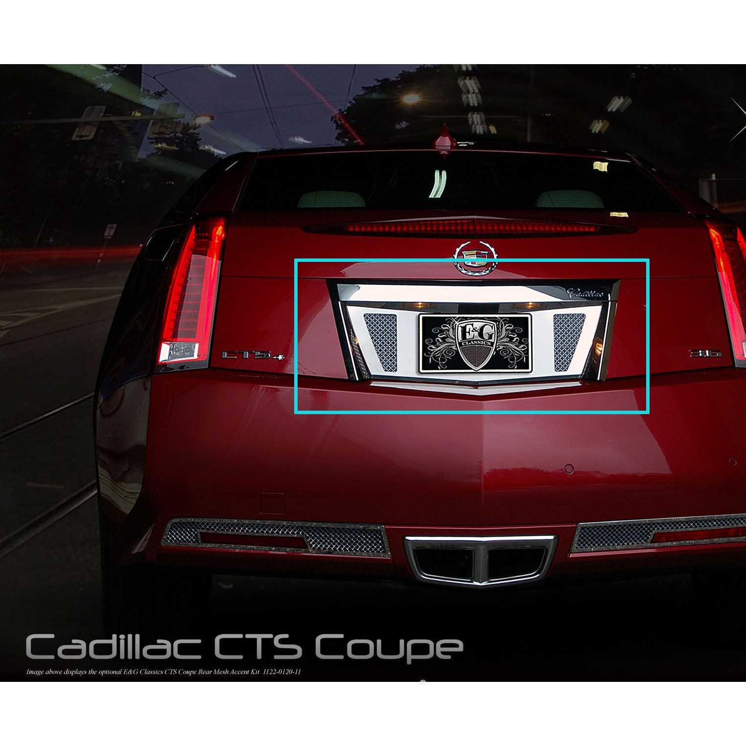 E Amp G Classics 2011 2015 Cadillac Cts Accessories Coupe Rear