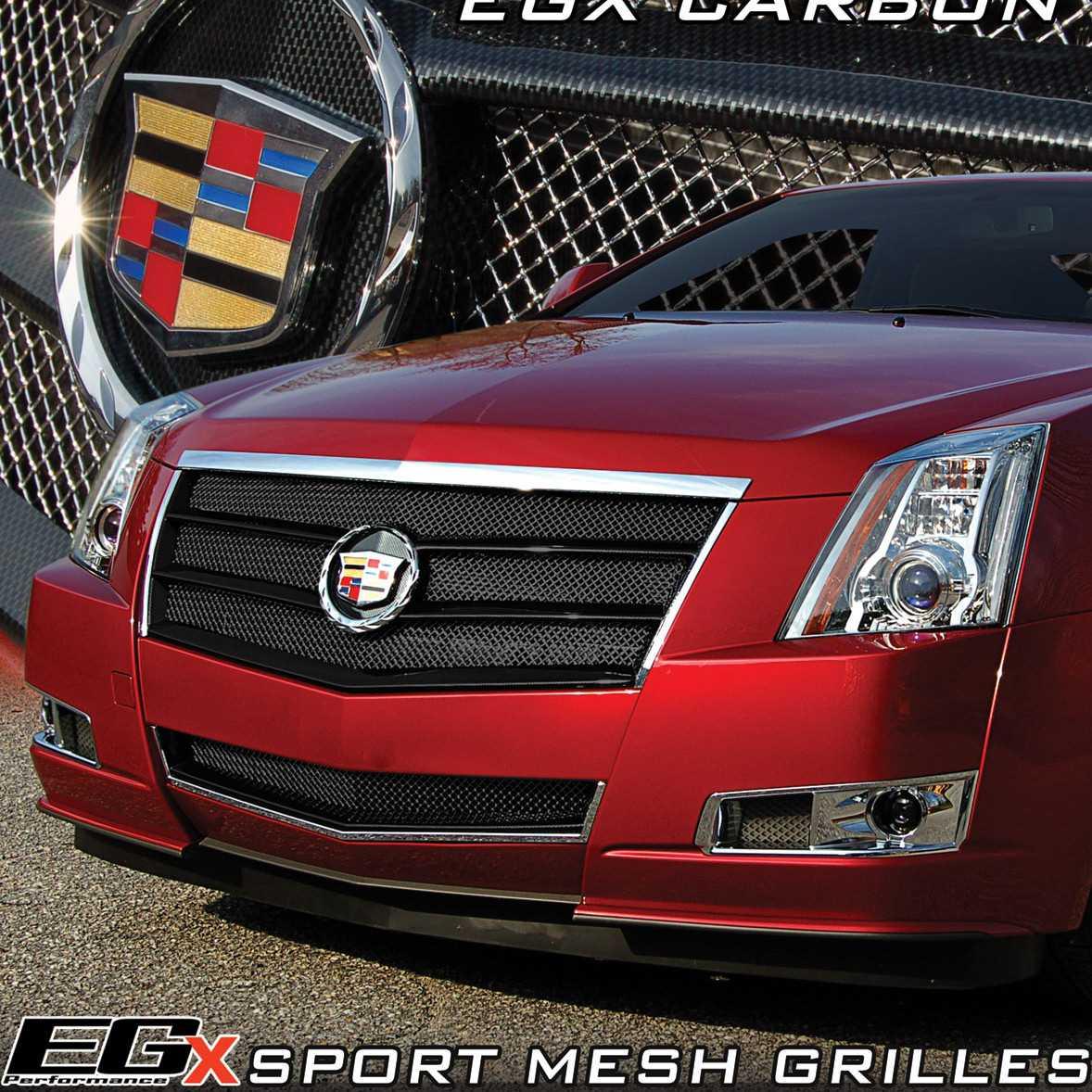 E&G Classics 2008-2013 Cadillac CTS Grille 2Pc Egx Sport