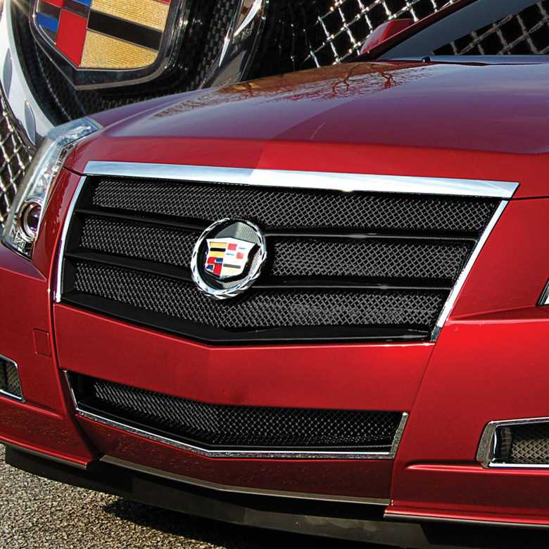 Cadillac Cts 2013 Price: E&G Classics 2008-2013 Cadillac CTS Grille 2Pc Egx Sport Fine Mesh Grille -Carbon Fiber Look