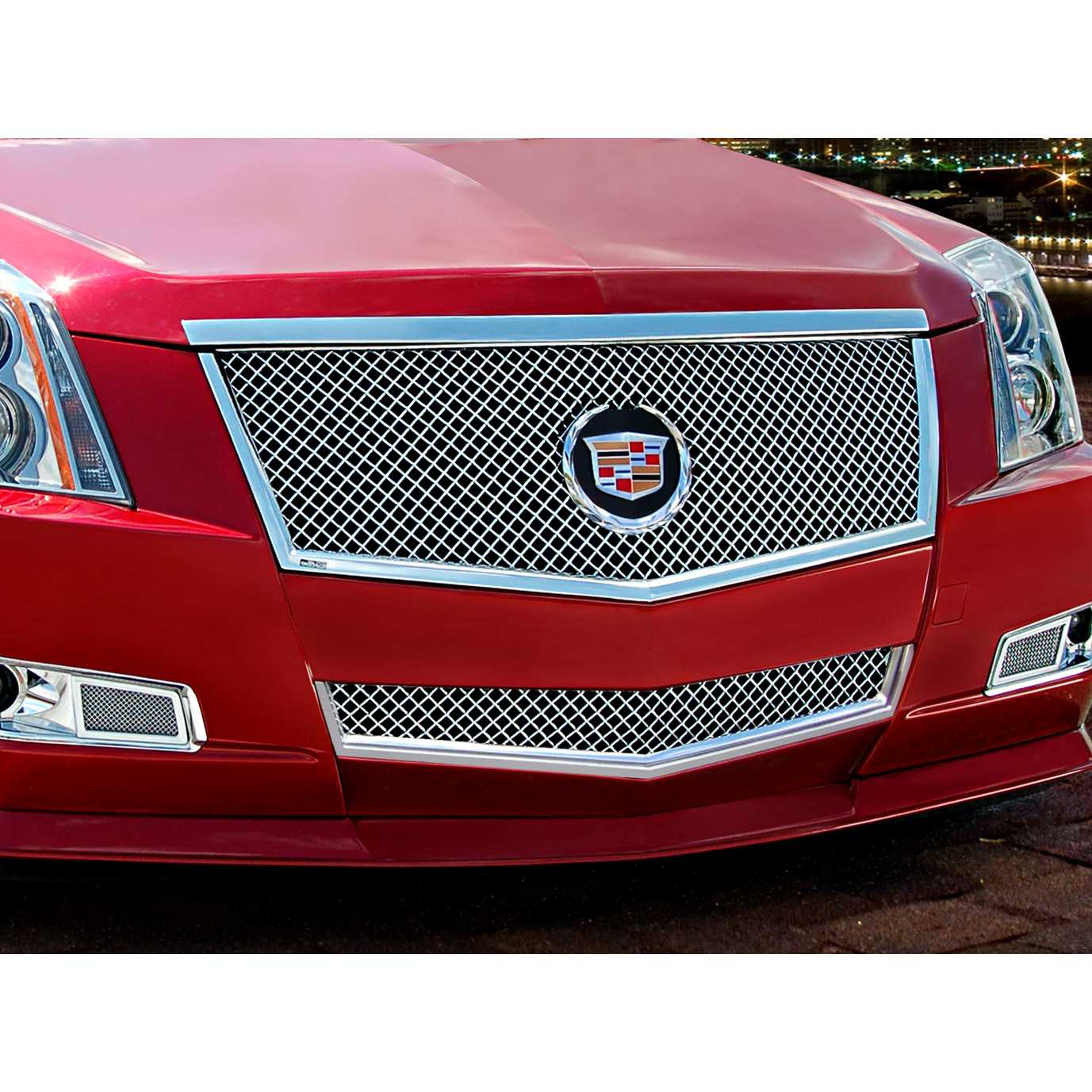 Cadillac Cts 2013 Price: E&G Classics 2008-2013 Cadillac CTS Grille 2Pc Classics Heavy Mesh Grille