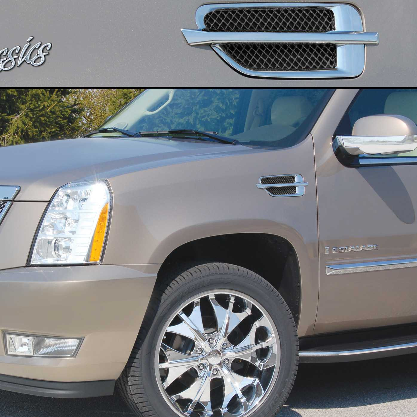 Available finishes product details 2007 2014 cadillac escalade accessories