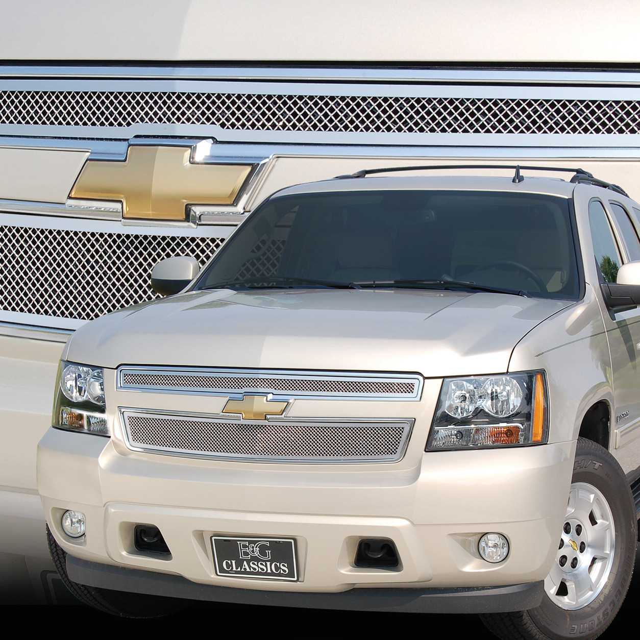 E&G Classics 2007-2014 Chevrolet Tahoe Grille Fine Mesh