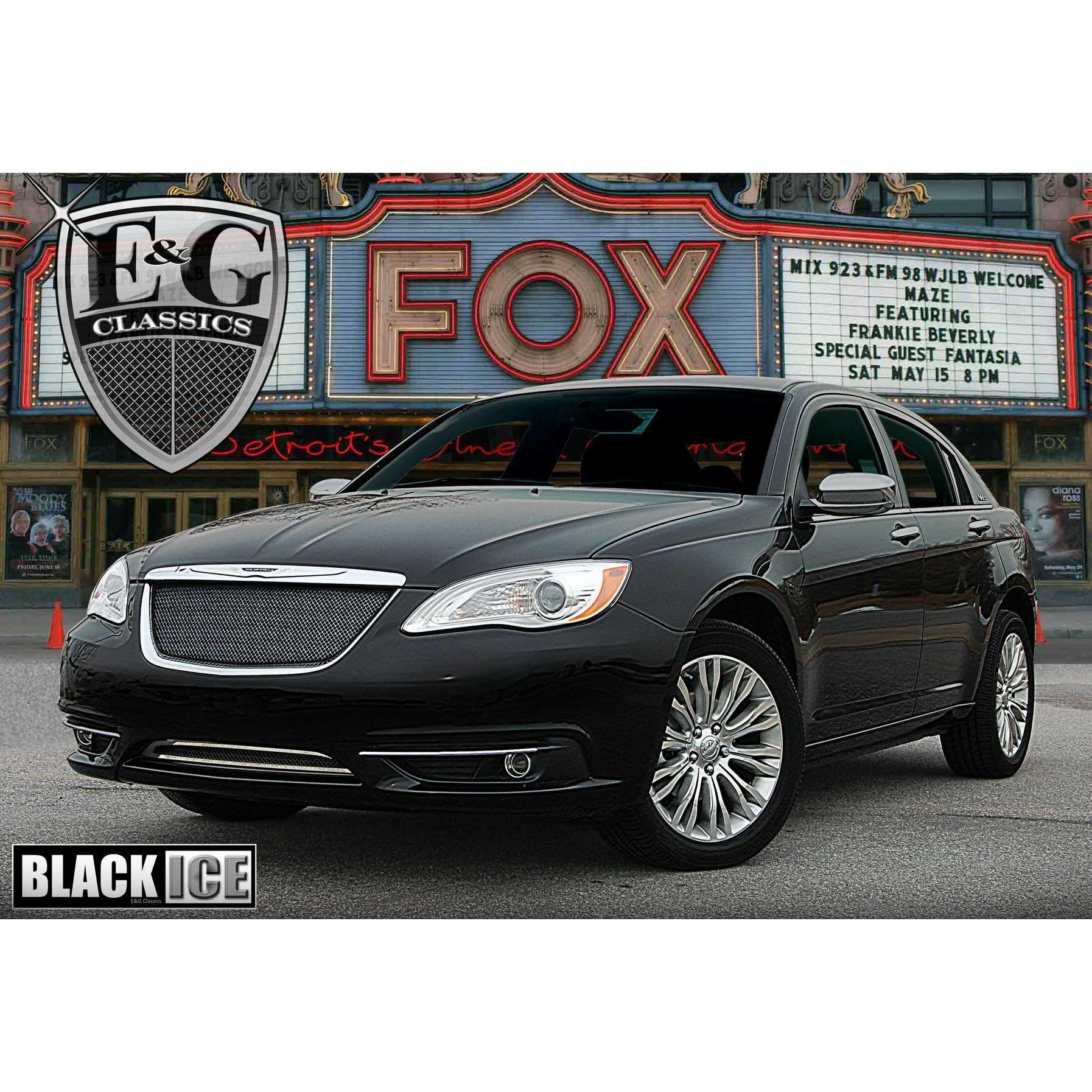 2012 Chrysler 200 Grill >> E G Classics 2011 2014 Chrysler 200 Grille 2pc Fine Mesh Grille