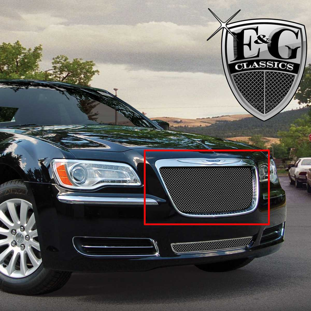 Available finishes product details 2011 2014 chrysler 300 grille black