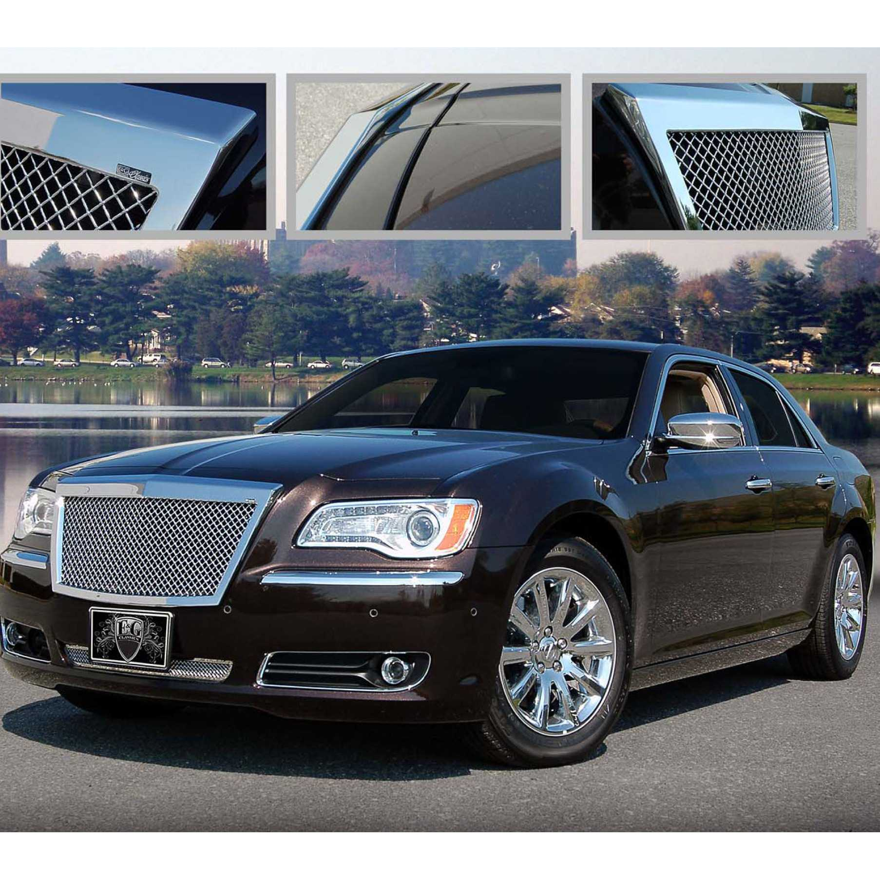 E g classics 2011 2014 chrysler 300 300c grille classic heavy mesh grille upper only 1099 0104 11c