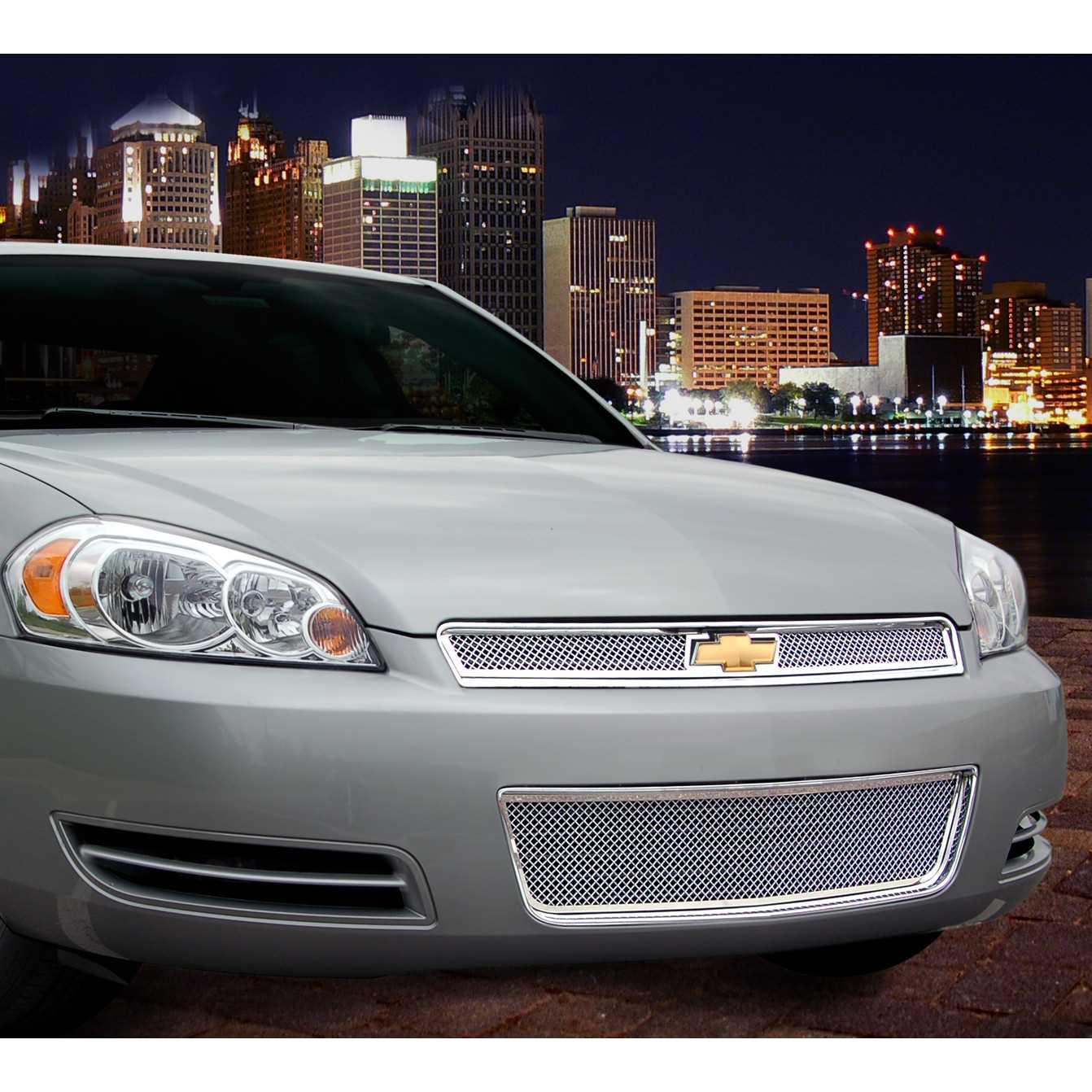 chevrolet impala custom grilles mesh grilles autos post. Black Bedroom Furniture Sets. Home Design Ideas