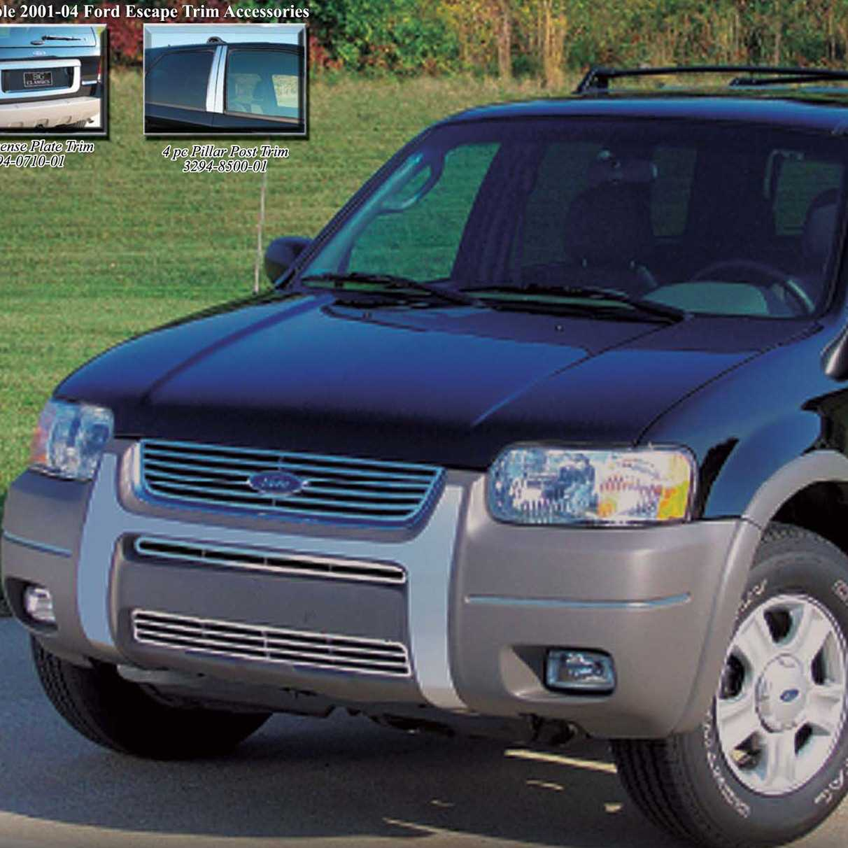 Available finishes product details 2001 2004 ford escape grille