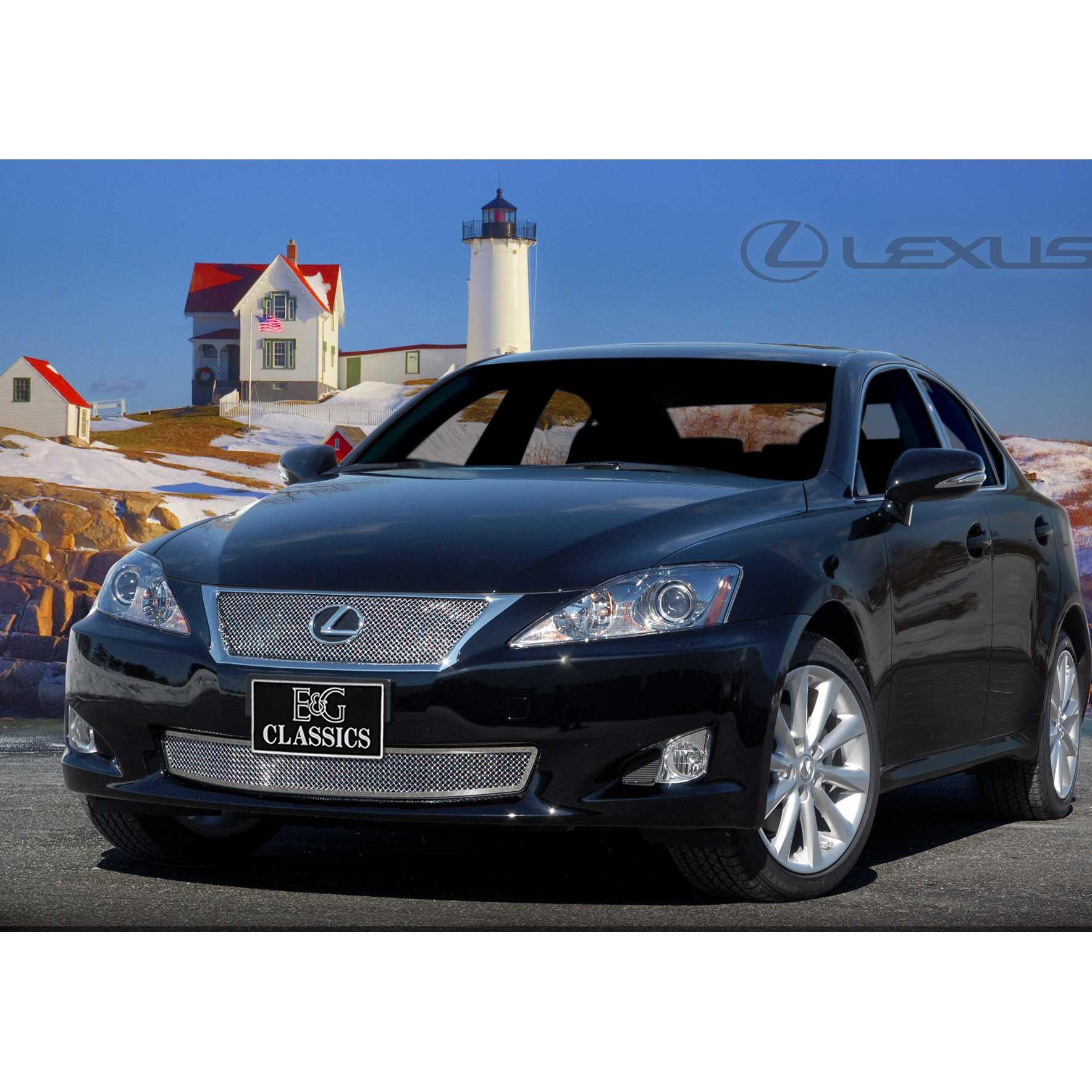 E&G Classics 2009-2010 Lexus IS Grille 2 Pc Fine Mesh
