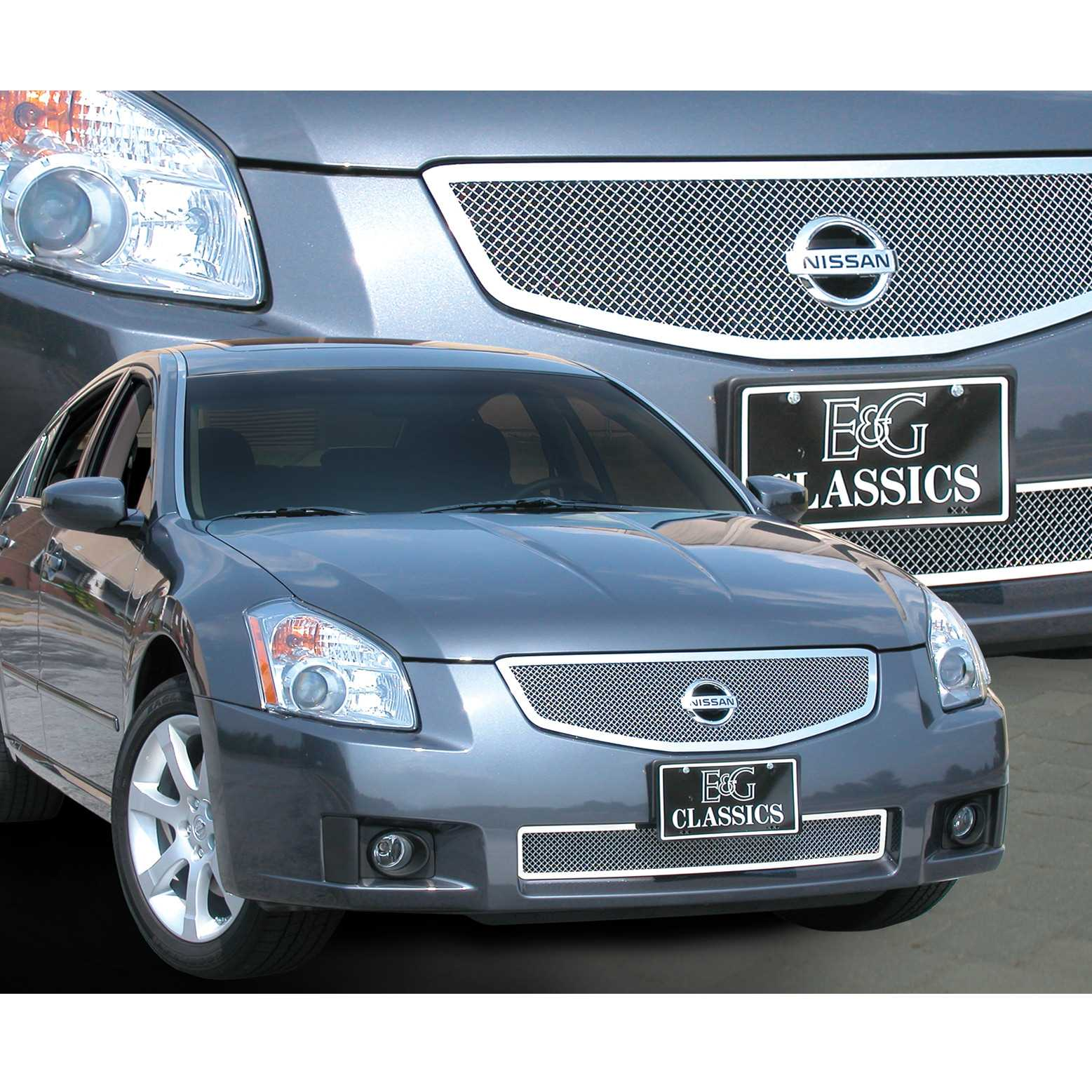 Available finishes product details 2007 2008 nissan maxima grille