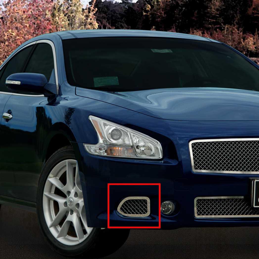 Hubcap Tire And Wheel >> E&G Classics 2009-2015 Nissan Maxima Grille 2 Pc Heavy ...