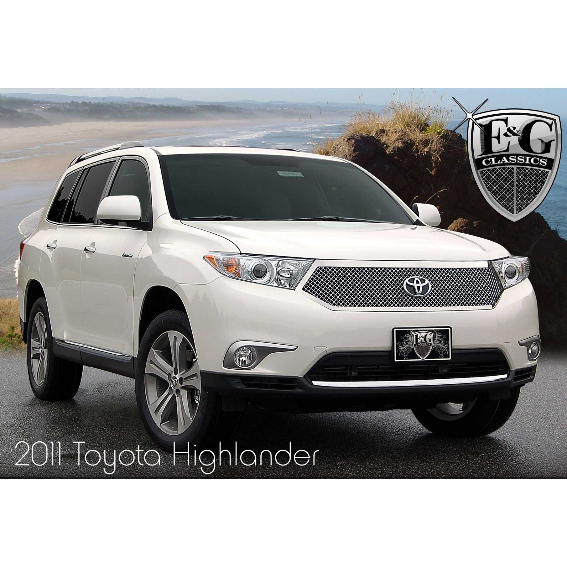 Pictures Of Toyota Highlander: Custom Grills For Your Car, Truck, Jeep