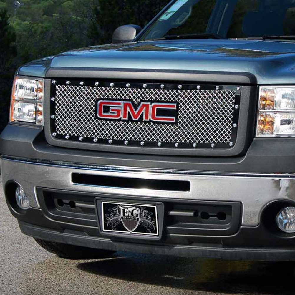 Available finishes product details 2007 2013 gmc sierra 1500 grille